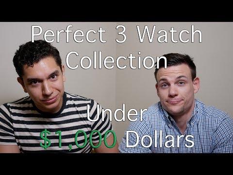 Perfect Three Watch Collection: Under $1,000 Dollars - Omega, Hamilton, Steinhart, Vostok & Seagull
