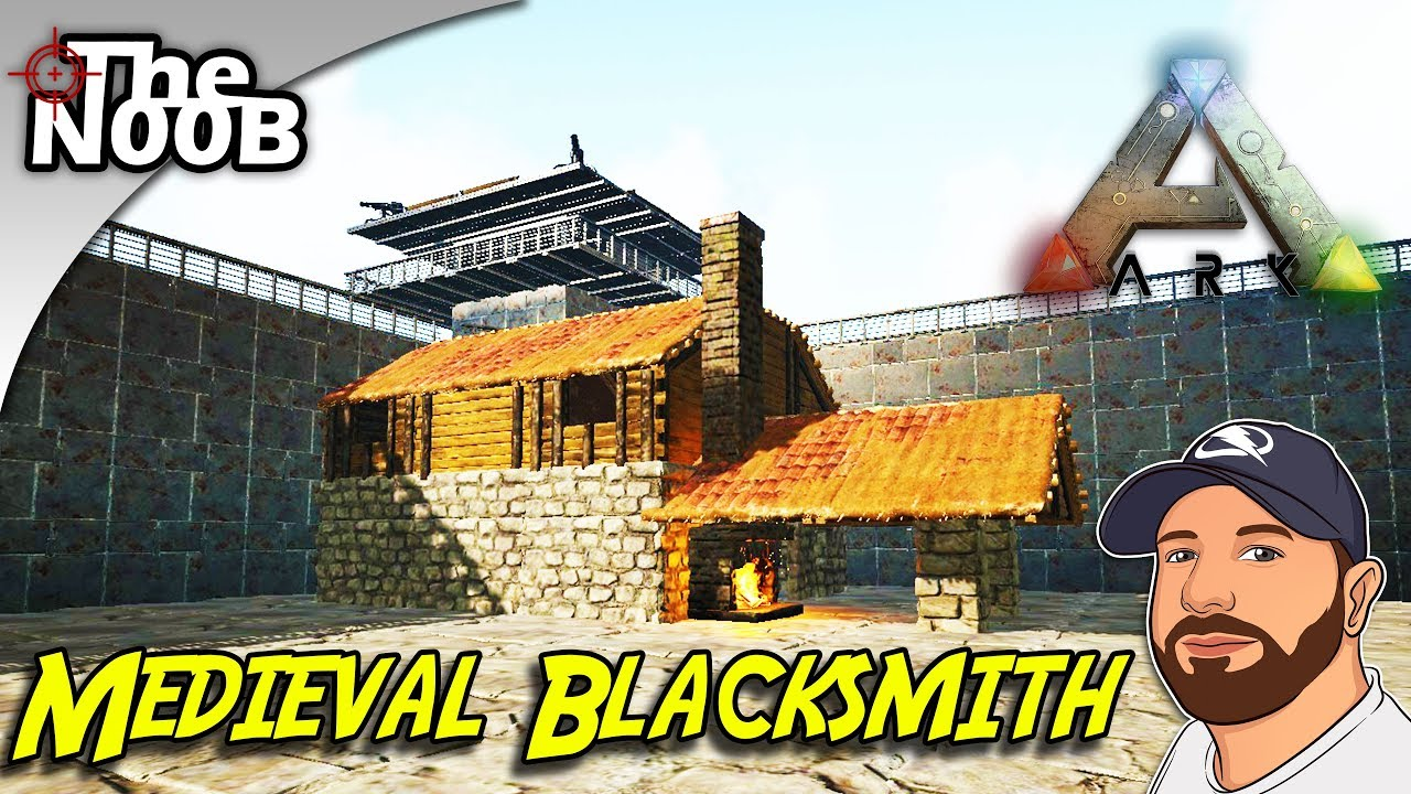 Ark ragnarok how to build a medieval blacksmith s08 e29 thenoob ark ragnarok how to build a medieval blacksmith s08 e29 thenoob official malvernweather Choice Image