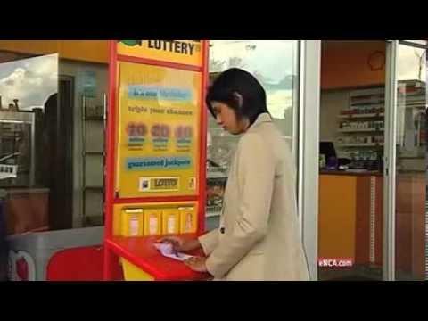 Lotto millionaire broke