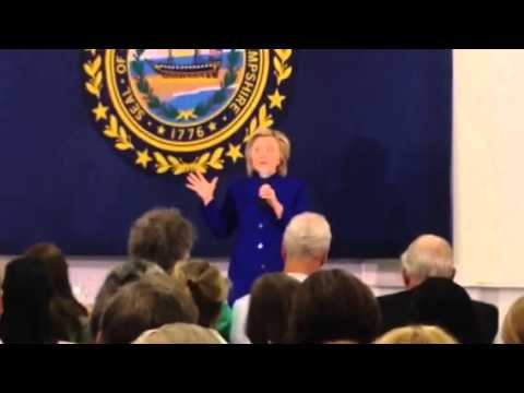 Hillary Clinton River Valley Community College 8/11/15