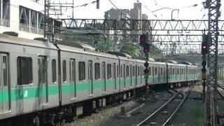 E233系急行唐木田行 小田急新百合ケ丘発車