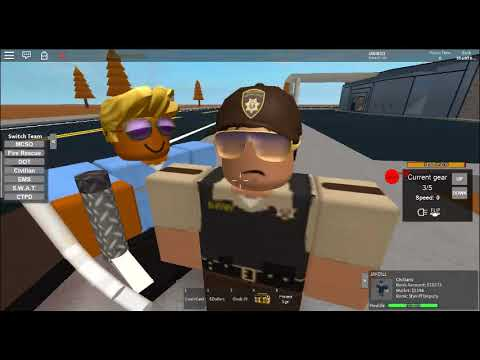 Emergency Services In Action Mano Country Roblox Youtube