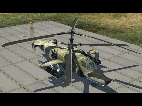DCS World | Запуск, взлёт и навигация на Ка-50