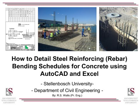 Steel reinforcing bar schedule spreadsheet autos post for How to find good subcontractors