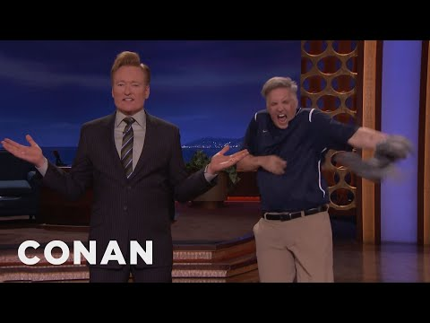 The Cardinals' Rally Cat Clawed Its Way To CONAN  - CONAN on TBS