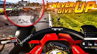 Why you should NEVER give up after a Lap 1 Crash