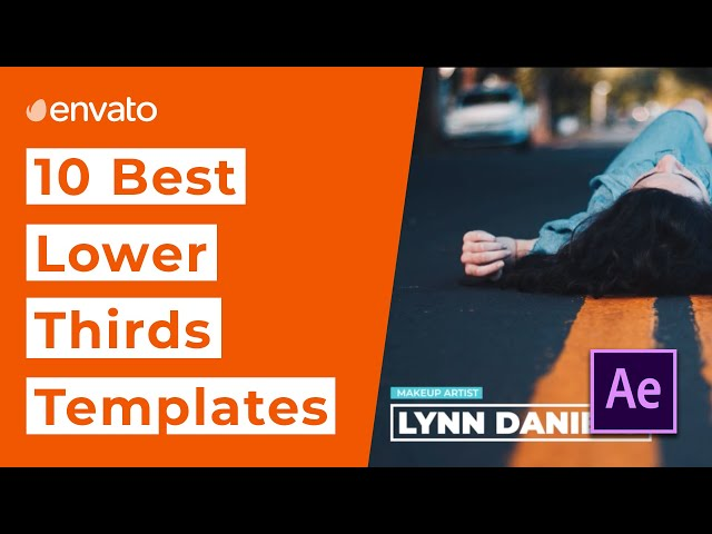 10 Best Lower Thirds Templates for After Effects [2020]