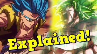 SSB Gogeta & Full Power Super Saiyan Broly Abilities Breakdown! Dragon Ball Z Dokkan Battle