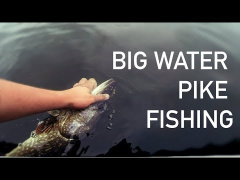 Open Water Pike Fishing!