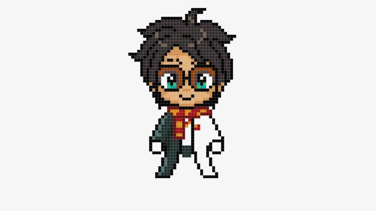 Harry Potter And The Deathly Hallows (Pixel Art)   YouTube