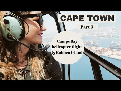 Cape Town Travel Guide // part 3 // Camps Bay, penguins, helicopter flight & Robben Island