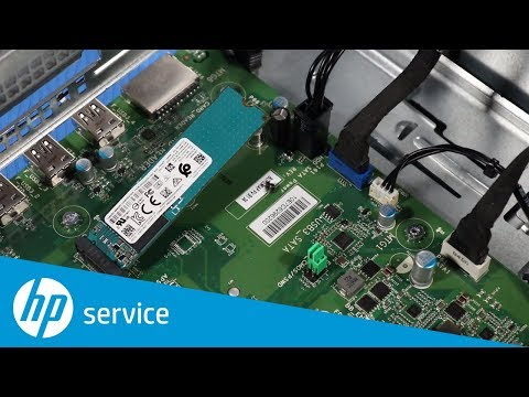 How To Replace the M.2 Solid-State Drive | HP Slim Desktop S01-aF0000, S01-aD0000 | HP