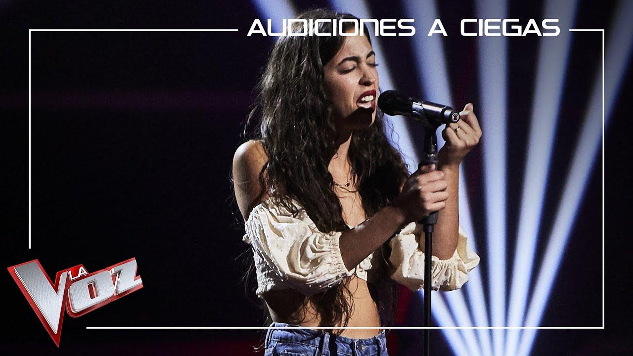 Download Isabel Molina 'Beli' canta 'Me quedo contigo' | Audiciones a ciegas | La Voz Antena 3 2021