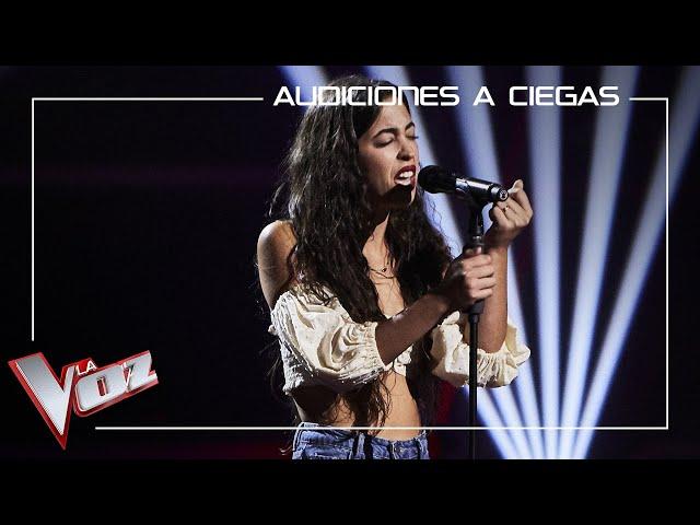 Isabel Molina 'Beli' canta 'Me quedo contigo'   Audiciones a ciegas   La Voz Antena 3 2021