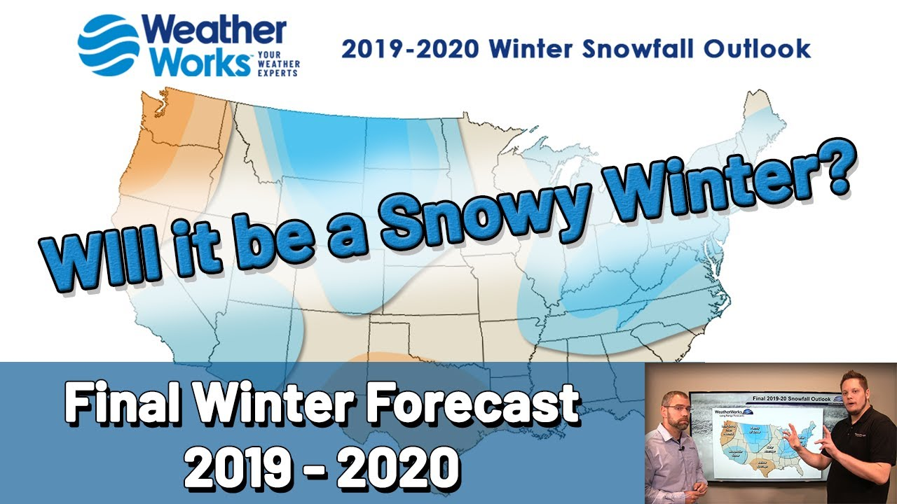 2019 2020 Winter Predictions Northeast.Final 2019 20 Winter Forecast Released