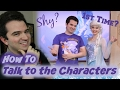 How to Meet with Disney Characters