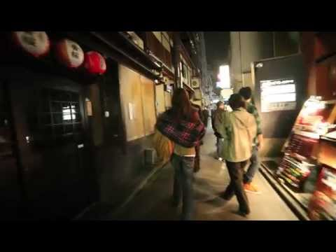 A night stroll down Kyoto's Pontocho Dori.
