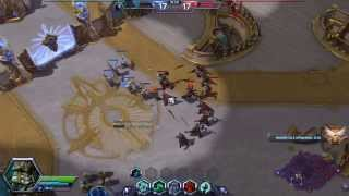 Heroes of the Storm| Master Skin  Leoric Battlefield of Eternity Quick Match Gameplay