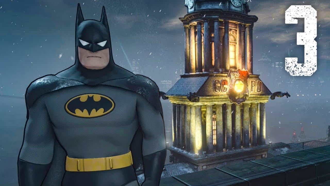 ANIMATED BATMAN SUIT!   Batman: Arkham City - Part 3