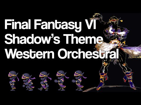 """zircon - Final Fantasy 6 """"A Fistful of Nickels"""" (Shadow's Theme) Remix [Western / Orchestral]"""