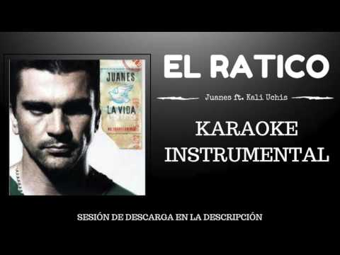 EL RATICO - JUANES FT KALI UCHIS (KARAOKE - INSTRUMENTAL - MULTITRACK) 151