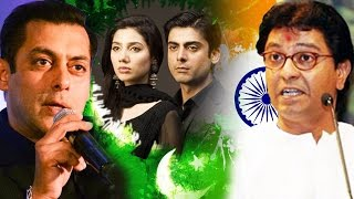 salman khan s reply to mns on baning pakistani actors raj thackeray slams   bollywood weekly news