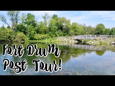 FORT DRUM POST TOUR | Marie Roberts