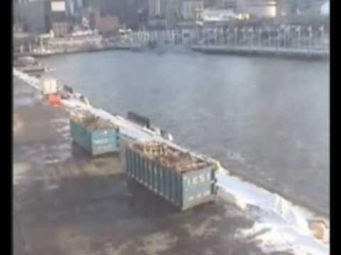 A320 Hudson River Crash Surveillance Video