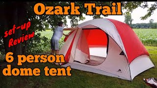Ozark Trail 6-person Dome Tent review