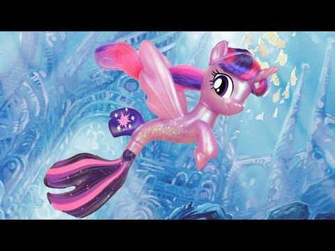 MERMAID TWILIGHT! My Little Pony the Movie Sea Pony Princess Twilight Sparkle Toy Review | MLP Fever