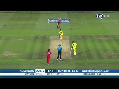 England v Australia, first T20