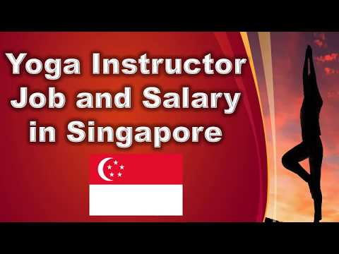 Yoga Instructor in Singapore - Jobs and Salaries in Singapore