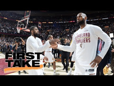 Kyrie Irving talks about relationship with LeBron James | First Take | ESPN