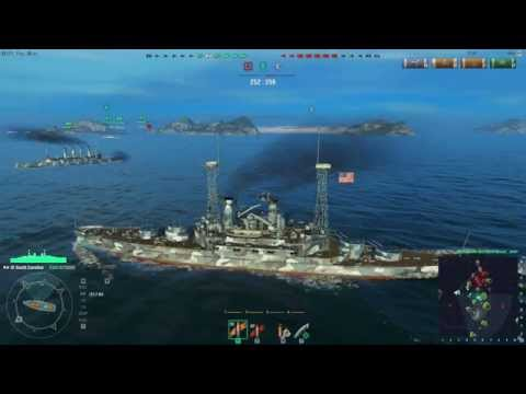 World of Warships - American Battleship USS South Carolina