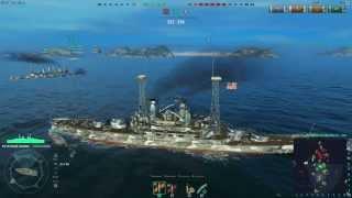 World of Warships - American Battleship USS South Carolina