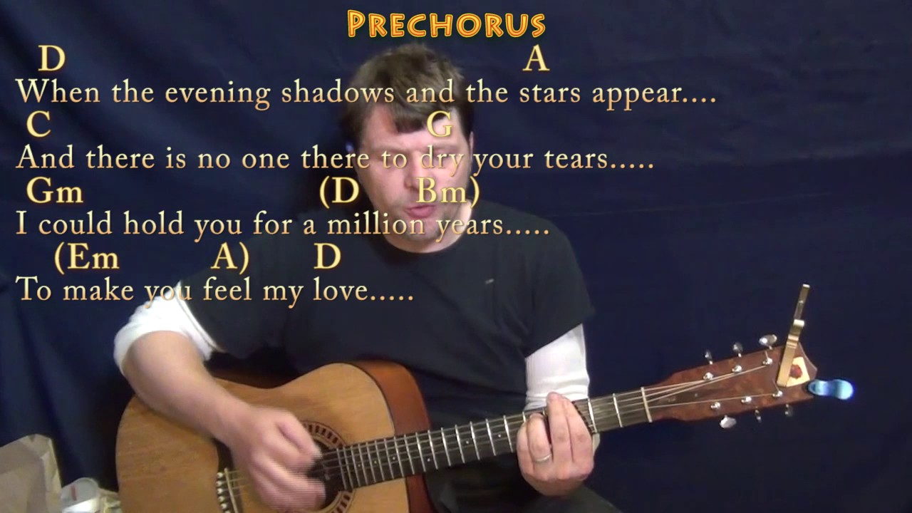 Make you feel my love guitar cover lesson with chordslyrics make you feel my love guitar cover lesson with chordslyrics hexwebz Image collections
