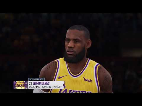 NBA Live 19 Gameplay | Jazz Vs Lakers | EA Access