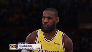 NBA Live 19 Gameplay | Jazz vs Lakers | EA Access