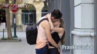 Kissing Prank Trick Question