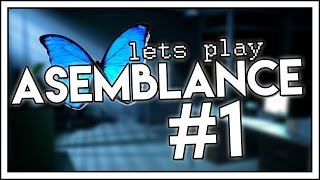 Let's Play ASEMBLANCE - Part 1 - (Asemblance Full Game Walkthrough Gameplay)