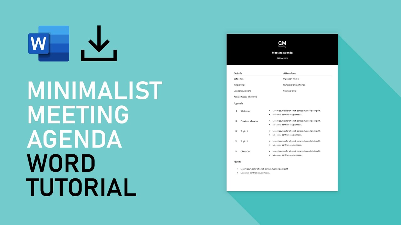 Once is often more than enough, particularly when creating a lengthy or comprehensive. Speedrun Brutalist Workshop Agenda Template Microsoft Word Tutorial Youtube