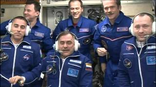 New Crew on Station After Express Flight