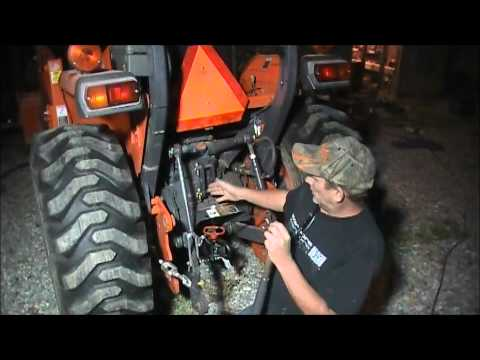 where to connect your tractor top link