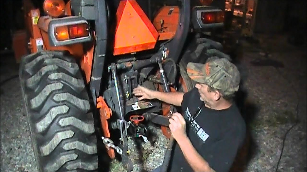 Top Link For Brush Hog : Where to connect your tractor top link doovi