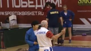 Эпизоды турнира по женскому сумо во Владивостоке (2 июля 2016 года)