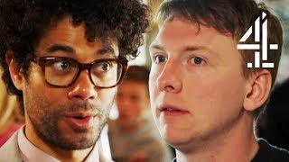Richard Unimpressed By Joe Lycett Accidentally Insulting Waitress   Travel Man