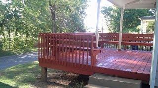 Restore your deck with Behr deck over