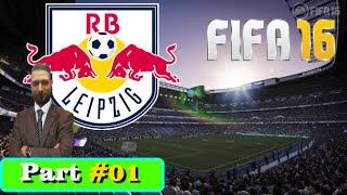 FIFA 16 Karrieremodus RB Leipzig die Roten Bullen kommen! #01 [Let's Play]