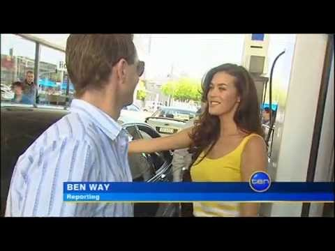 Ten News: Megan Gale sells Petrol