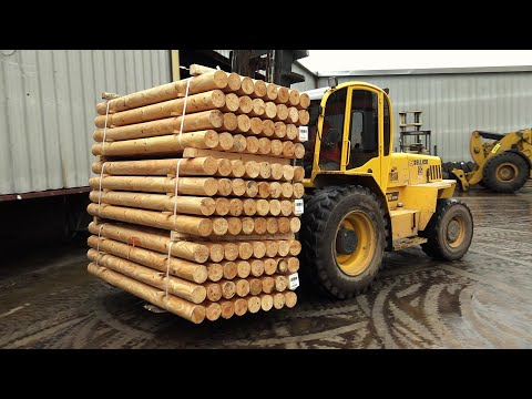how-wood-fence-posts-are-made